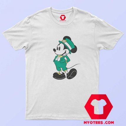 Disney Mickey Mouse Leprechaun Mickey T Shirt