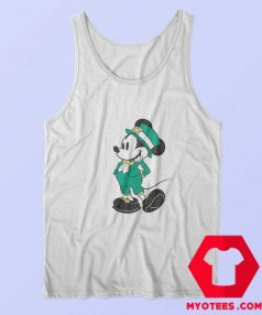 Disney Mickey Mouse Leprechaun Mickey Tank Top