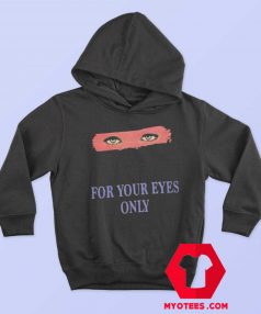 For Your Eyes Only Vintage Unisex Hoodie