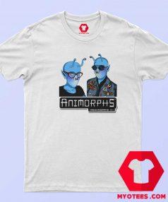 Funny Animorphs Couple Alien Graphic T Shirt