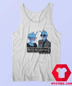 Funny Animorphs Couple Alien Graphic Tank Top