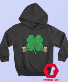Funny Irish Day St. Pattys Clover Beer Unisex Hoodie