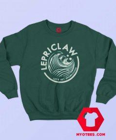Funny Lepriclaw Saint Patricks Unisex Sweatshirt