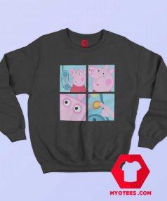 Funny Peppa Pig Hanging Up Phone Meme Sweatshirt