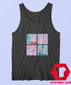 Funny Peppa Pig Hanging Up Phone Meme Tank Top