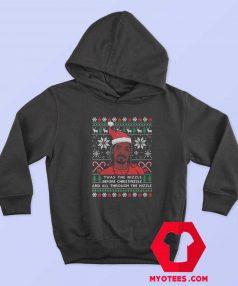 Funny Snoop Dogg Christmas Unisex Hoodie