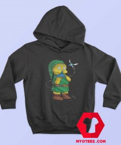 Funny Zelda Ralph The Simpsons Parody Hoodie
