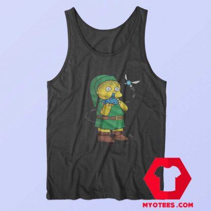 Funny Zelda Ralph The Simpsons Parody Tank Top