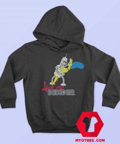 Futurama Love Me Bender Simpsons Hoodie