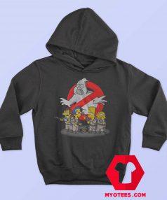 Ghostbuster Simpson Halloween Parody Hoodie