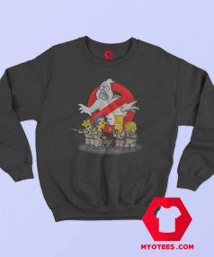 Ghostbuster Simpson Halloween Parody Sweatshirt