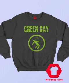 Green Day Warning Album Cover Sweatshirt