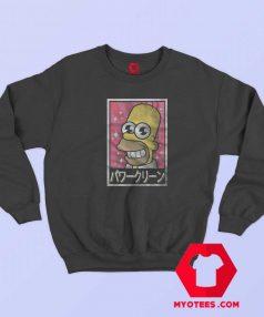 Japanese The Simpsons Funny Parody Sweatshirt