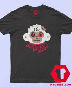 Monkey Head Never Broke Again T Shirt