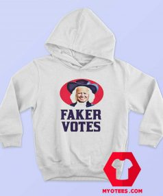 Sleepy Joe Faker Votes Parody Political Hoodie