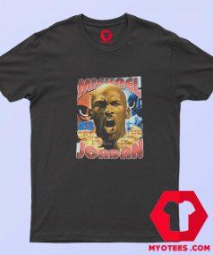 Vintage Michael Jordan Bootleg Rap Style T Shirt