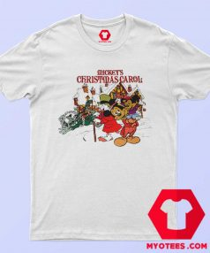 Vintage MickeyChristmas Carol Unisex T Shirt
