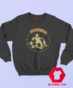 Vintage Simpsons Homer American Idle Sweatshirt