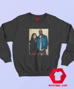 Aaliyah With Earl Simmons DMX Unisex Sweatshirt