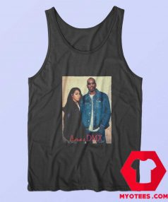 Aaliyah With Earl Simmons DMX Unisex Tank Top