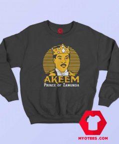 Akeem Prince Of Zamunda Movie Parody Sweatshirt