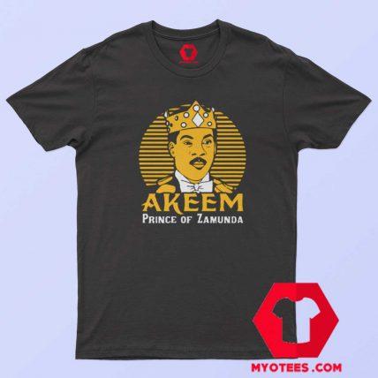 Akeem Prince Of Zamunda Movie Parody T Shirt