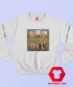 All Time Low Don t Panic Tour Band Sweatshirt