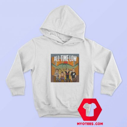 All Time Low Don t Panic Tour Band Unisex Hoodie