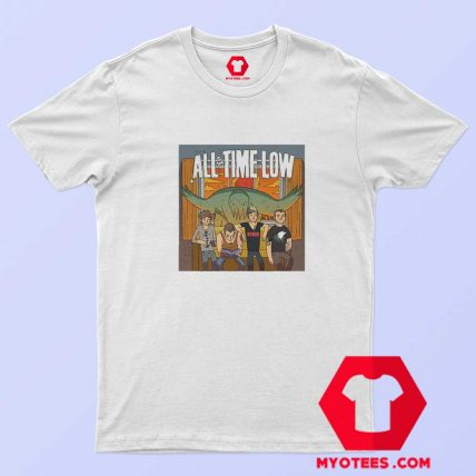 All Time Low Don t Panic Tour Band Unisex T Shirt