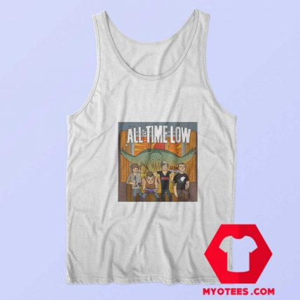All Time Low Don t Panic Tour Band Unisex Tank Top