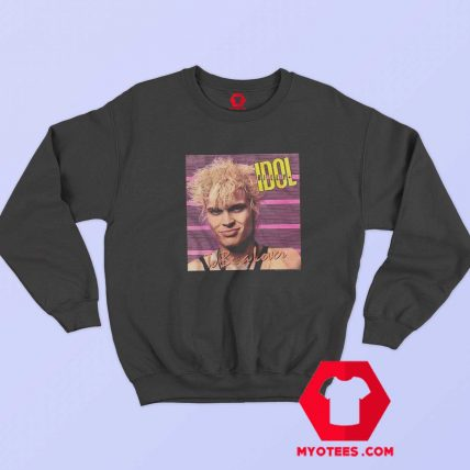 Billy Idol To Be a Lover Album Cover Art Sweatshirt