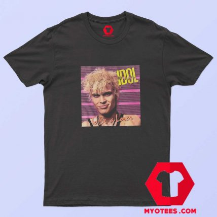 Billy Idol To Be a Lover Album Cover Art T Shirt