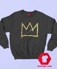 Cool Basquiat Crown Jean Michel Unisex Sweatshirt