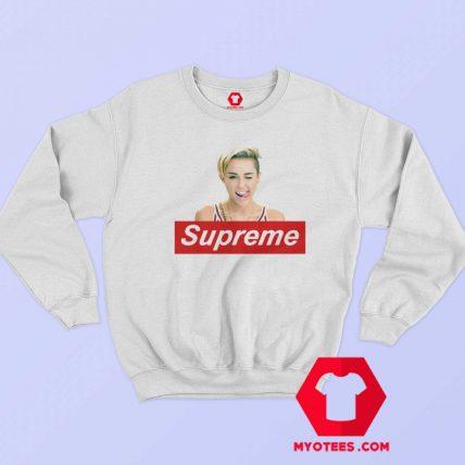 Cool Miley Cyrus Supreme Unisex Sweatshirt