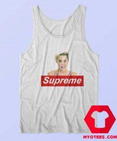 Cool Miley Cyrus Supreme Unisex Tank Top