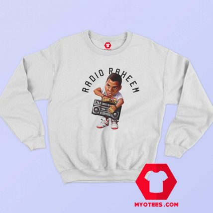 Cool Retro Raheem Toon Take Radio Sweatshirt