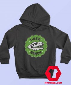 Cool T Rex Ranch Graphic Unisex Hoodie