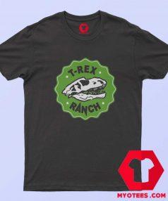 Cool T Rex Ranch Graphic Unisex T Shirt