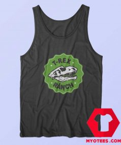 Cool T Rex Ranch Graphic Unisex Tank Top