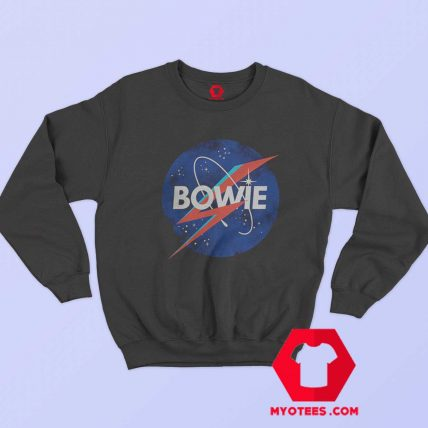David Bowie NASA Mashup Ziggy Stardust Sweatshirt
