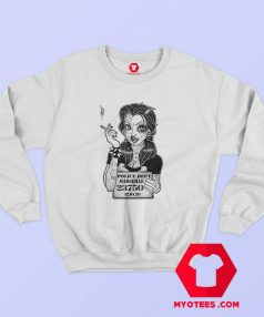 Disney Princess Tattoo Punk Girl Polizei Sweatshirt
