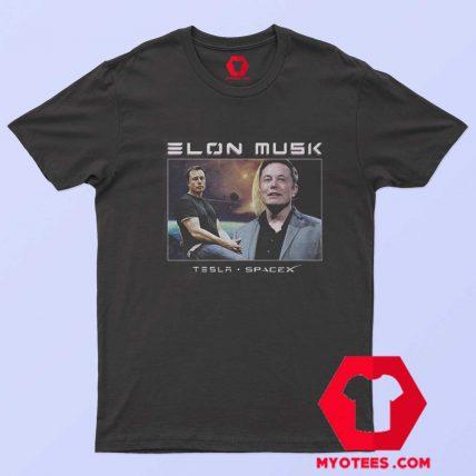 Elon Musk Tesla SpaceX Graphic Unisex T Shirt