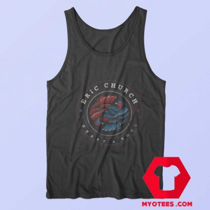 Eric Church Heart Soul Dueling Eagles Tank Top