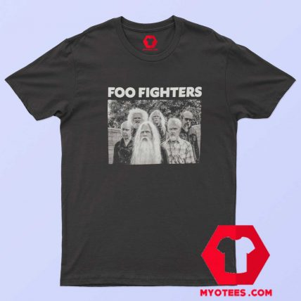 Foo Fighters OLd Dave Grohl Rock Band T Shirt