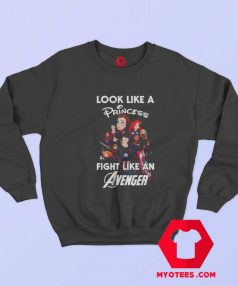 Funny Disney Princess Like an Avenger Sweatshirt