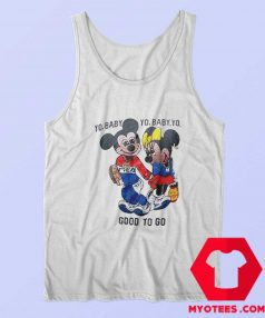 Good To Go Mickey Mouse Unisex Tank Top
