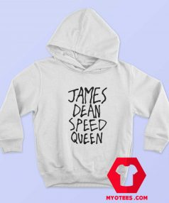 James Dean Speed Queen Funny Graphic Hoodie