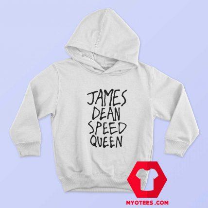 James Dean Speed Queen Funny Graphic Hoodie