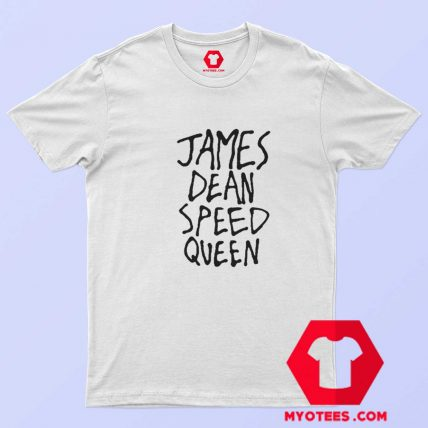 James Dean Speed Queen Funny Graphic T Shirt