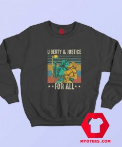 Liberty and Justice for All Vintage Unisex Sweatshirt